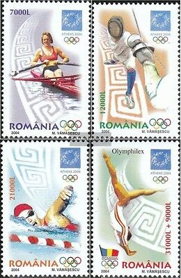 Romania 5853-5856 (complete.issue.) unmounted mint / never hinged 2004 Olympics