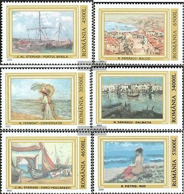 Romania 5701-5706 (complete.issue.) unmounted mint / never hinged 2003 Paintings