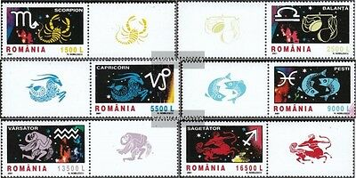 Romania 5620-5625 with zierfeld (complete.issue.) unmounted mint / never hinged