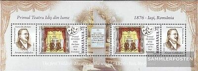 Romania Block456 (complete.issue.) unmounted mint / never hinged 2009 Jiddisches