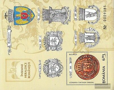 Romania Block438 (complete.issue.) unmounted mint / never hinged 2008 Crest