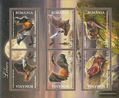 Romania Block384 (complete.issue.) unmounted mint / never hinged 2006 fledertier