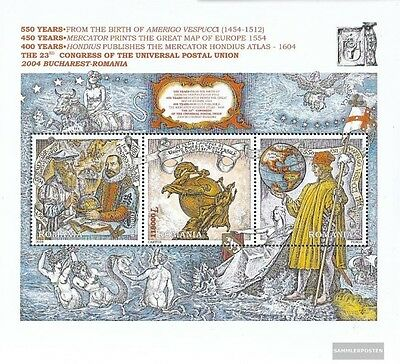 Romania Block343 (complete.issue.) unmounted mint / never hinged 2004 universal