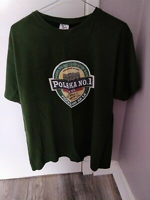 Unique CSC Celtic FC t shirt PB green and white Large Glasgow Celts hoops