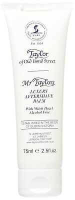 Taylor of Old Bond Street Mr Taylor Luxury Aftershave Balm Alcohol Free 75 ml