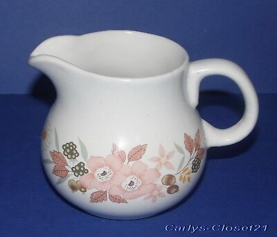 BOOTS Hedge Rose * Pottery Milk Jug / Creamer *