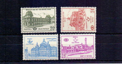 Belgium 1959-65 Railway Parcels ( 4 ) Lmm Cat £32