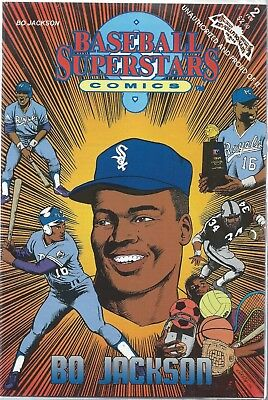 1991 Bo Jackson Baseball Superstars Comic