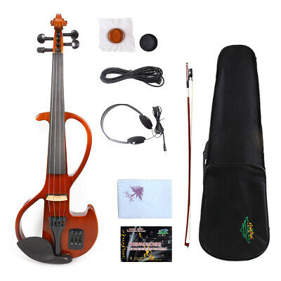 Yinfente 4String Violin 4/4 Electric Violin Support Mp3 With Case Violin Bow