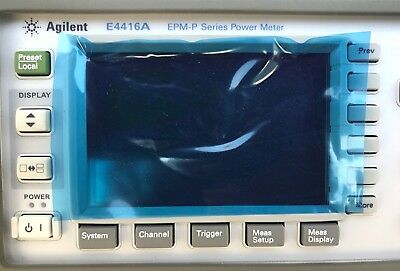 NEW ~ Agilent E4416A EPM-P Series Power Meter ~ FREE SHIPPING