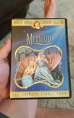 The Shirley Temple Storybook Collection - The Little Mermaid DVD 2006 Free ship