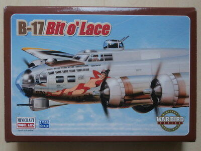MINICRAFT MODEL KITS , Nr. 14519 , B-17 Bit o'Lace , 1:144