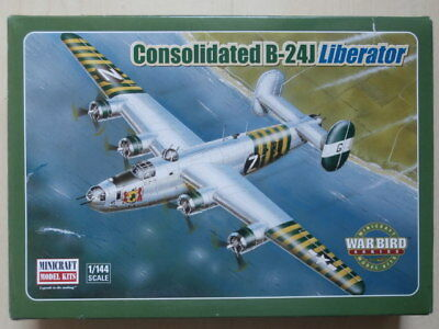 MINICRAFT MODEL KITS , Nr. 14402 , Consolidated B-24J Liberator , 1:144