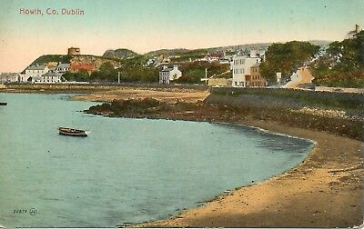 HOWTH, Co. DUBLIN * 19th CENTURY MARTELLO TOWER * VINTAGE VIEW *(A49)
