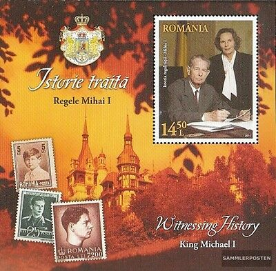 Romania Block607A (complete.issue.) unmounted mint / never hinged 2014 History o