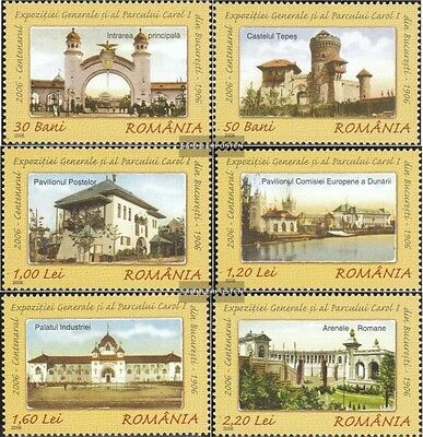 Romania 6077-6082 (complete.issue.) unmounted mint / never hinged 2006 Provincia