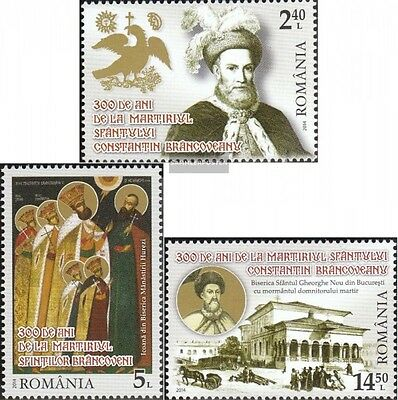 Romania 6847A-6849A (complete.issue.) unmounted mint / never hinged 2014 holy. C