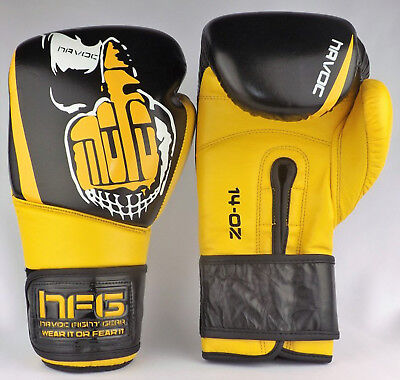 Reduced 60/% Off Havoc 14 oz Boxing Gloves Sparring UK Boxing Gloves MuayThai MMA