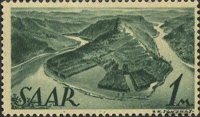 Saar 225 fine used / cancelled 1947 Occupations and Views