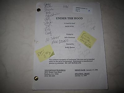 """Original UNDER THE HOOD Script """"A Need For Seed"""" (Episode 2, 1995)"""