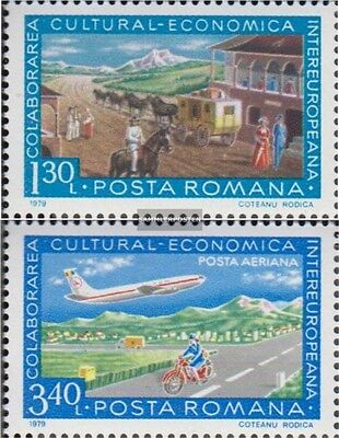 Romania 3587,3588 (complete.issue.) unmounted mint / never hinged 1979 INTEREURO