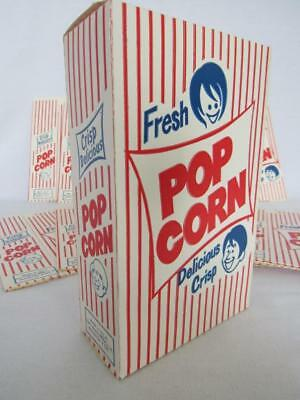 Vintage Lot of 12 Concession Stand Fresh POPCORN Boxes 1 oz. Size Theater NOS