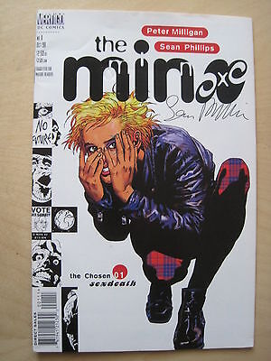 The MINX : COMPLETE 8 ISSUE SERIES. # 1 SIGNED by SEAN PHILLIPS. DC VERTIGO.1998