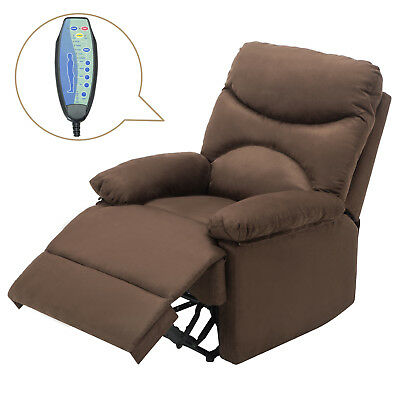 KUPPET Massage Sofa Chair Ergonomic Lounge Heated With Remote Control