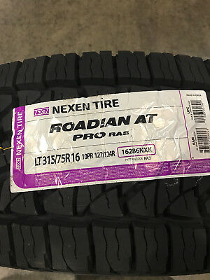 31ff8ac2cccff NEXEN ROADIAN AT Pro RA8 LT 315/75R16 127/124R E 10 ply All Terrain ...
