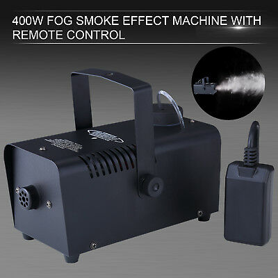 KUPPET 400W Black Smoke Fog Machine Stage Fogger Effect Equipment with remote
