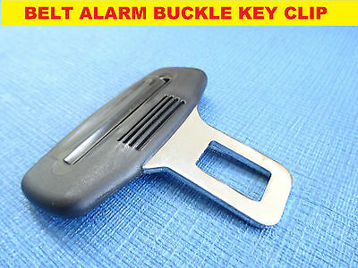TOYOTA UNIVERSAL car seat belt BUCKLE KEY CLIP safety ALARM beep clasp STOPPER