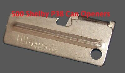 P38 P-38 Shelby Can Opener Case 500 Army USMC Military f Mess Kit C-Ration Scout