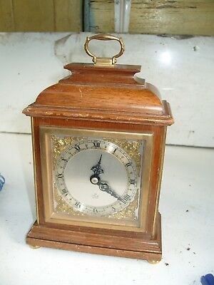 Mantel Clock Working Elliott Clock Made In England Dated 1974 Time Piece Only