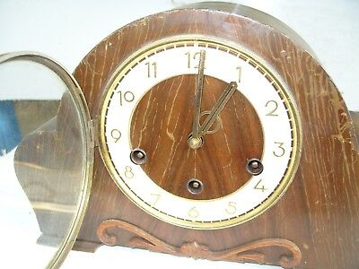 Mantel  Clock Whittington  Westminster  Striking  Clock Hac Floating  Balance
