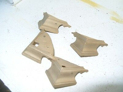 Clock Parts  4 Bottom Corner Feet   For   Mantel  Clock  Unused