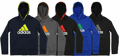 Adidas Youth PO Tech Fleece Pullover Hoodie, Color Options