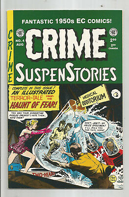 CRIME SUSPENSTORIES # 4 * Reprints Classic E.C. Stories