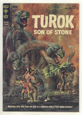 February 1963 TUROK SON OF STONE #31.Three-headed monsters! FINE