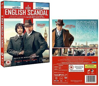 A VERY ENGLISH SCANDAL (2016-2017) Hugh Grant TV Season Series NEW R2 DVD not US