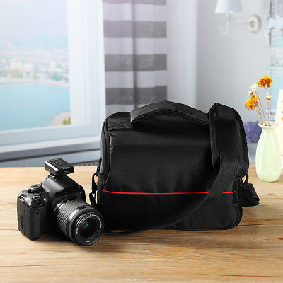 For Canon Nikon Sony Camera Bag Waterproof Nylon Shoulder Carrying Case Handbag