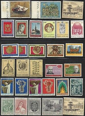 Selection of  VATICAN STAMPS MNH - 2