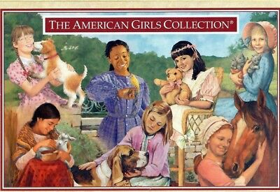 Retired Pleasant Company Postcard! 2000! Seven 1St Dolls With Pets! Kit~Samantha