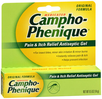Campho-Phenique Pain & Itch Relief Antiseptic Gel 0.5 Ounce