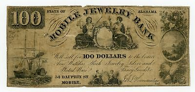"""J.A.L. Hommedieu """"$100 Mobile Jewelry Bank"""" - Mobile, ALABAMA Advertising Note"""