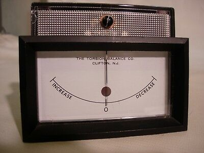 NULL METER with hardware from a TORBAL Electronic Balance Scale Model EA-1