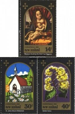 New Zealand 831-833 (complete issue) unmounted mint / never hinged 1981 christma