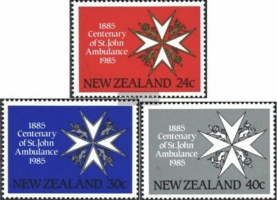 New Zealand 916-918 (complete issue) unmounted mint / never hinged 1985 Saint Jo