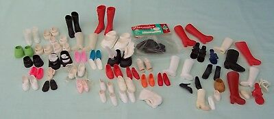 Assorted Mixed Doll Shoes vintage lot  25+ pairs clearance job lot