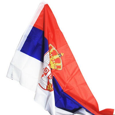 Republic of Serbia flag 90*150cm Serbia Polyester standard Flag Pride Peace Flag