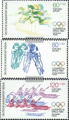 Berlin (West) 716-718 (complete issue) FDC 1984 Sports Aid